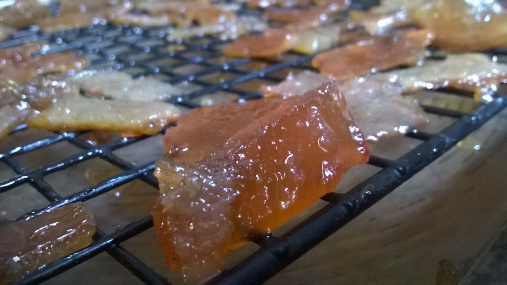 Candied Peel _ Drying