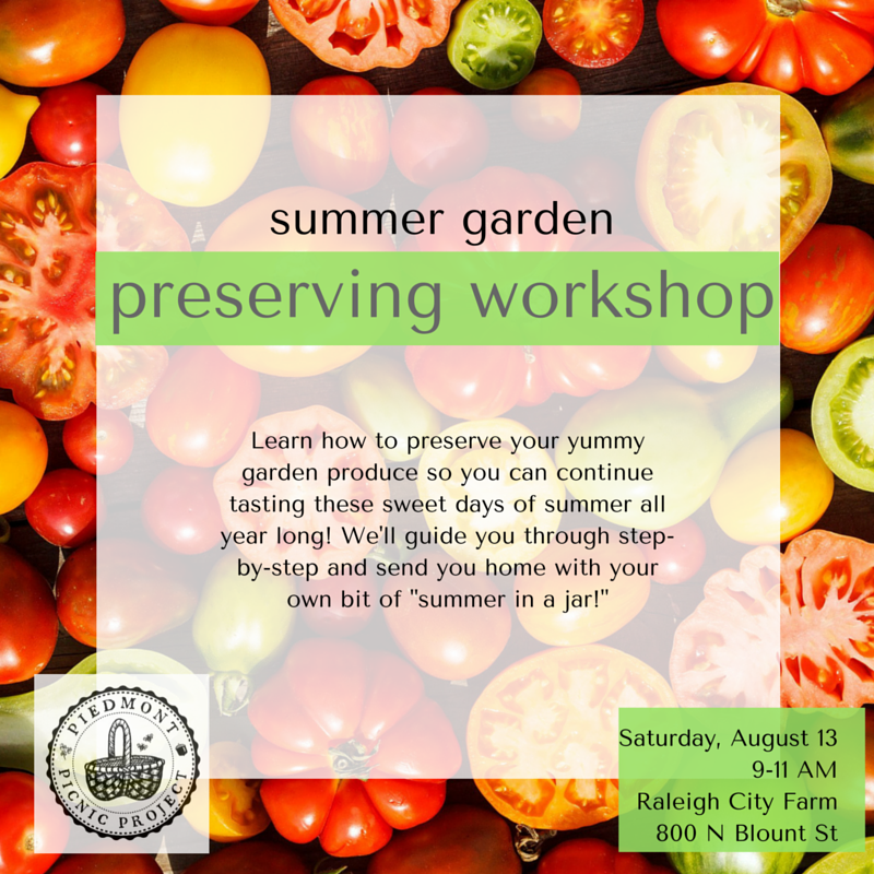 preserving summer graphic