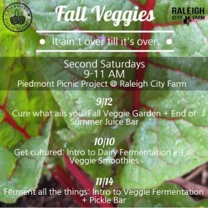 Upcoming Class Schedule - Fall 2015